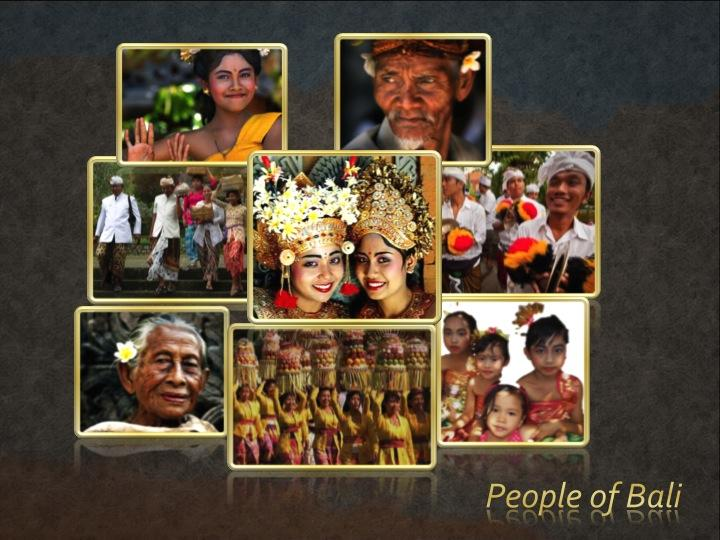 People of Bali